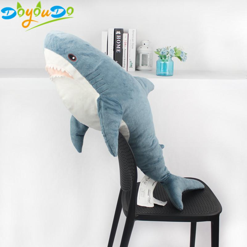 2019 Giant Shark Plush Toy Big Stuffed Anime Sharks Soft Pillow For
