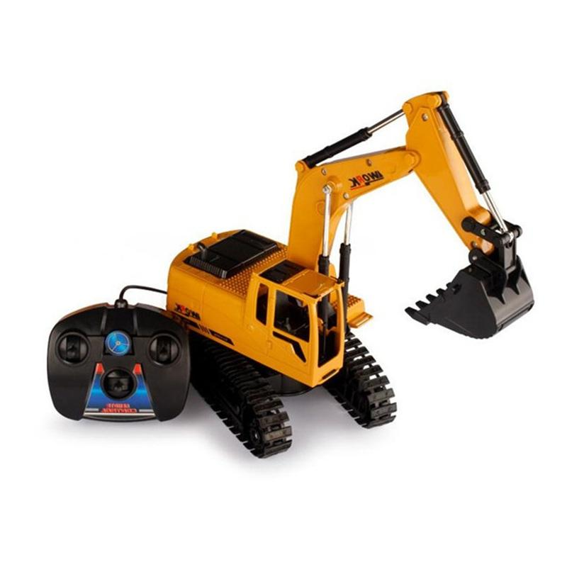 Toy Tractors For Sale >> Farfeji 1 28 Remote Control Tractor Toy Rc Excavator With Toy
