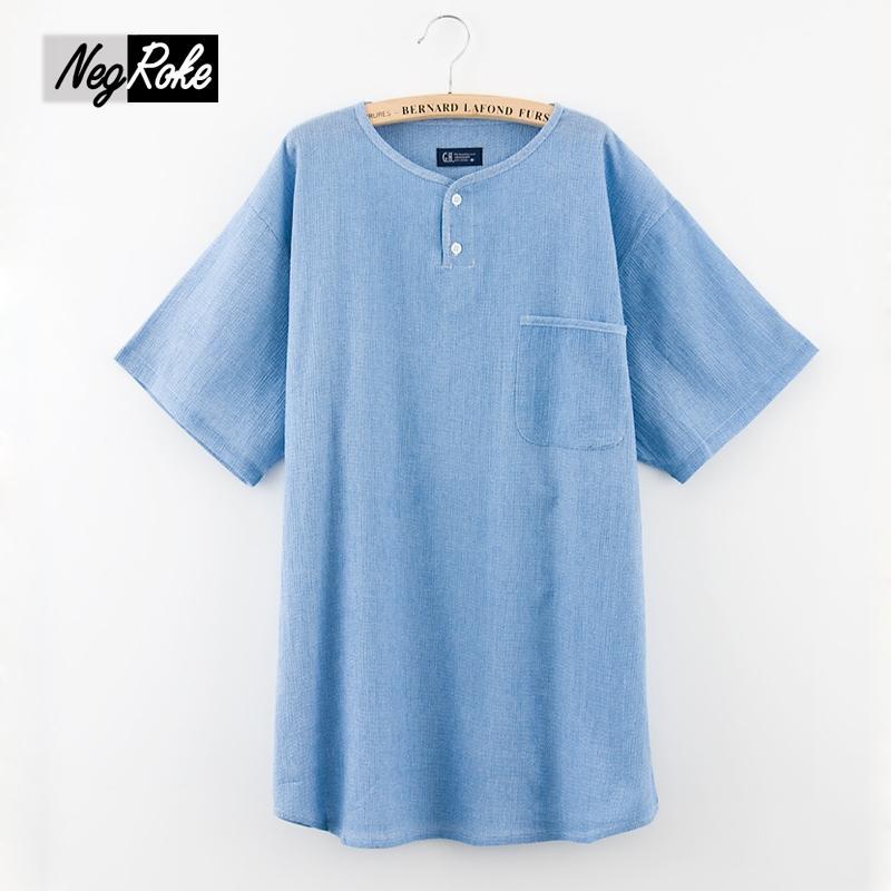 100% cotton male sleepwear shorts Pajamas sets cropped trousers Summer simple pijamas for men short sleeves homewear pyjama men