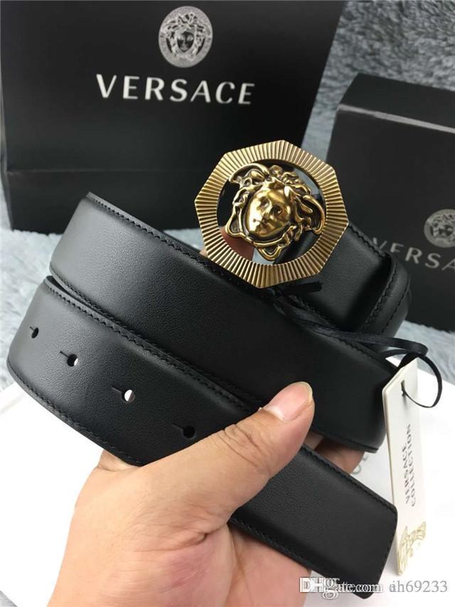 Compre HOT 2018 Ahora Marca Originales Cinturones De Hebilla De Diseño  Hombres De Lujo Cinturón De La Hebilla De Moda Para Hombre Cinturones De  Cuero ... 0c7c18a592d6