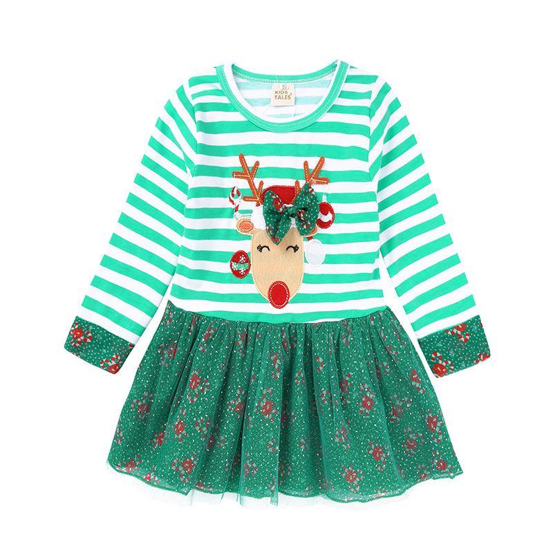 Großhandel Neues Jahr Schöne Winter Long Sleeves Baby Kleider Für ...