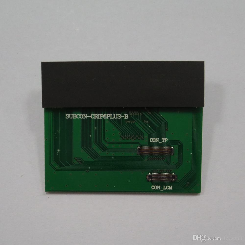 ل فون 5 جرام 5 ثانية 5c 6 جرام 6 زائد إصلاح lcd عالية الجودة شاشة lcd لمس الشاشة محول الأرقام اختبار اختبار pcd مجلس