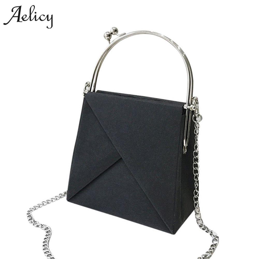 Aelicy Chains Messenger Bag Women Vintage Ladies Famous Brand Crossbody Bag  For Female Small Luxury Handbags Women Bags Designer Men Bags Handbag  Wholesale ... 3c38114058468