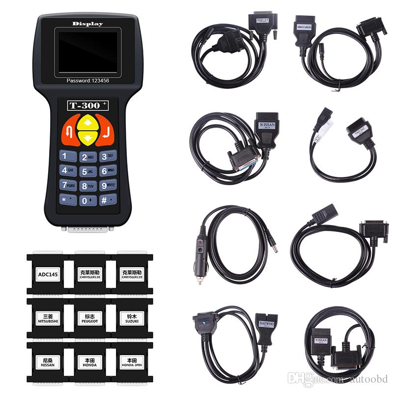 T300 car key programming tools English/Spanish T300 car key transponder key programmer dhl