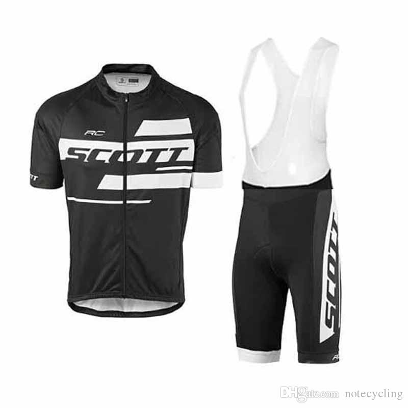 92913e1fe 2018 Scott Cycling Jersey Ropa Ciclismo Breathable Bike Clothing Quick Dry  Bicycle Sportwear Maillot Ciclismo Bib Shorts GEL Pad 81705Y Mountain Bike  Pants ...