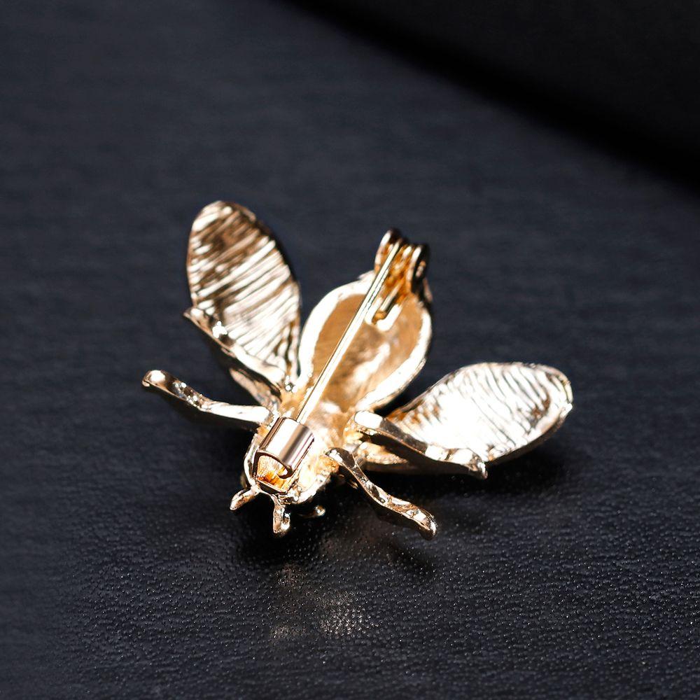 Enaml Mel Abelha Broche Moda Esmalte Emblema Pin Pin Para Mulheres Meninas Broches
