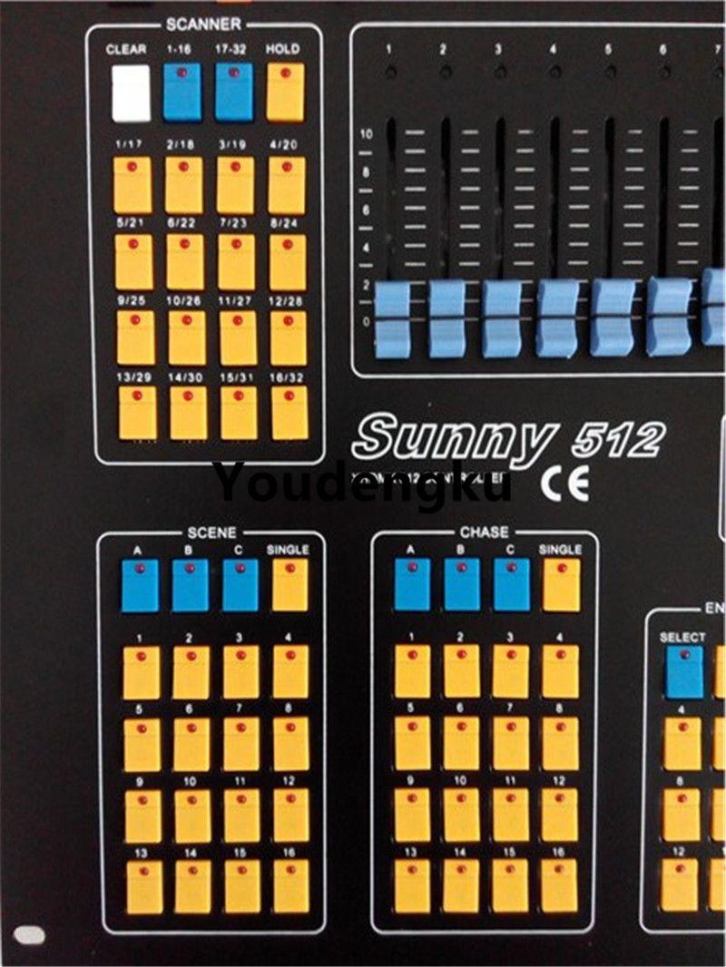 Sunny DMX 512 콘솔 조명 컨트롤러 DMX 컨트롤러 DMX 512 컨트롤러