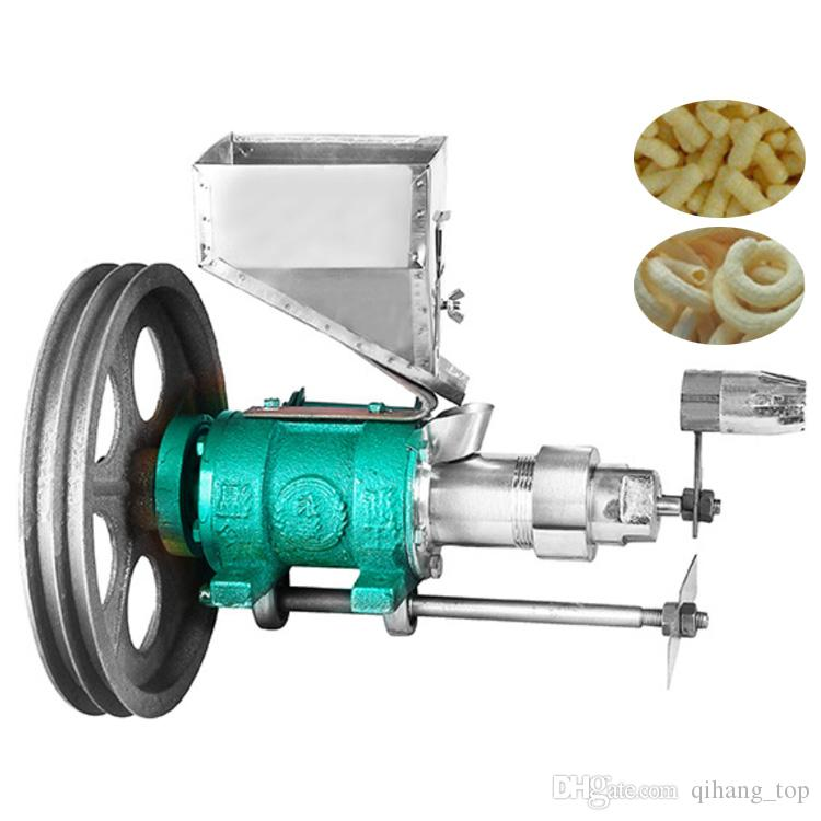 Corn/rice puffing machine mltifunction puffed corn rice snacks food  extruder / puff snack machine for sale