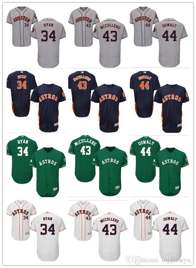 low priced ead4e 985ed custom Men Women Youth Majestic Astros Jersey #34 Nolan Ryan 43 Lance  McCullers 44 Roy Oswalt Home Red white Kids Baseball Jerseys
