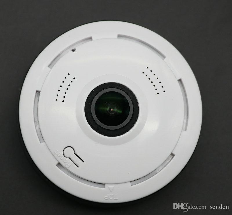 360 derece panoramik balıkgözü kamera 3d kablosuz wifi güvenlik kamera açık süper geniş açı destek ir gece motion algılama video survei