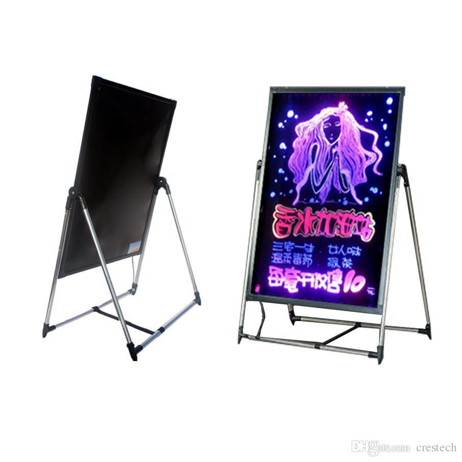 2018 neon effect restaurant menu sign diy message chalkboard