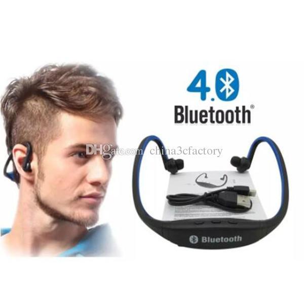 S9 Sport Беспроводная связь Bluetooth Наушники Наушники гарнитура для iphone 6/5/4 galaxy S5 / S4 / 3 iOS / Android с микрофоном