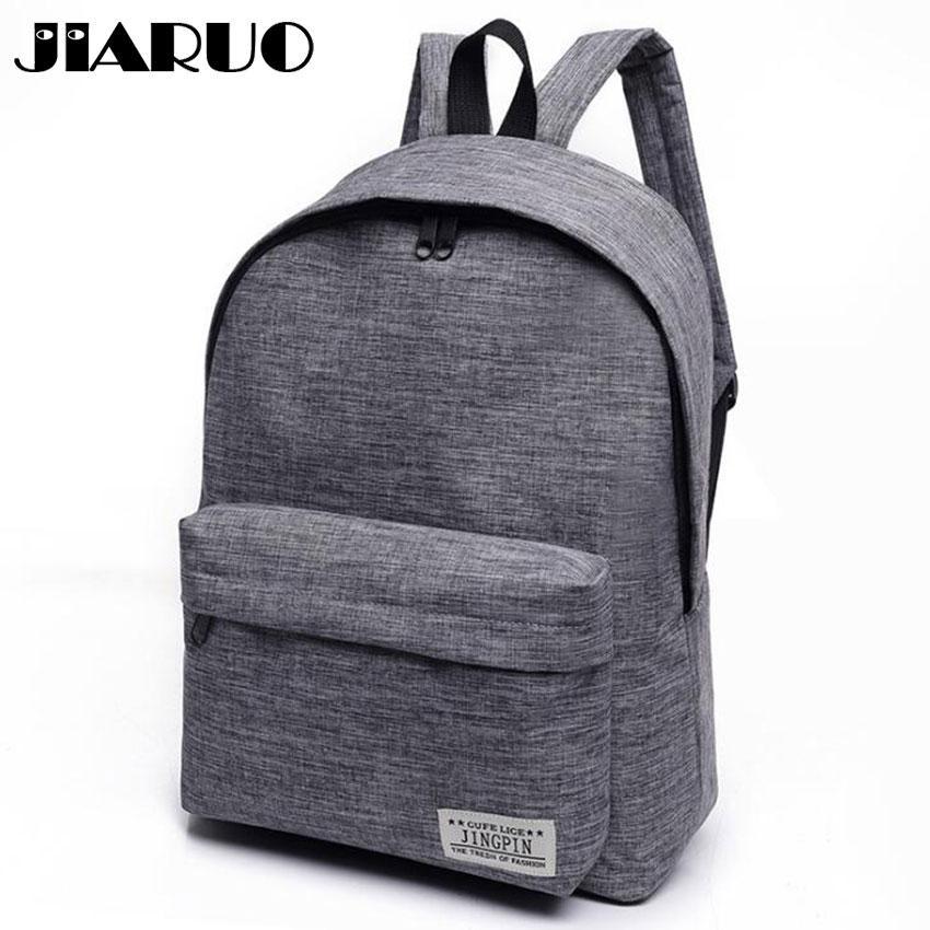 c130202533 Lassical Simple Canvas Women Backpacks School Bag For Teenagers Girls  Student Book Laptop Back Pack Travel Mochila Classical Simple Canva.