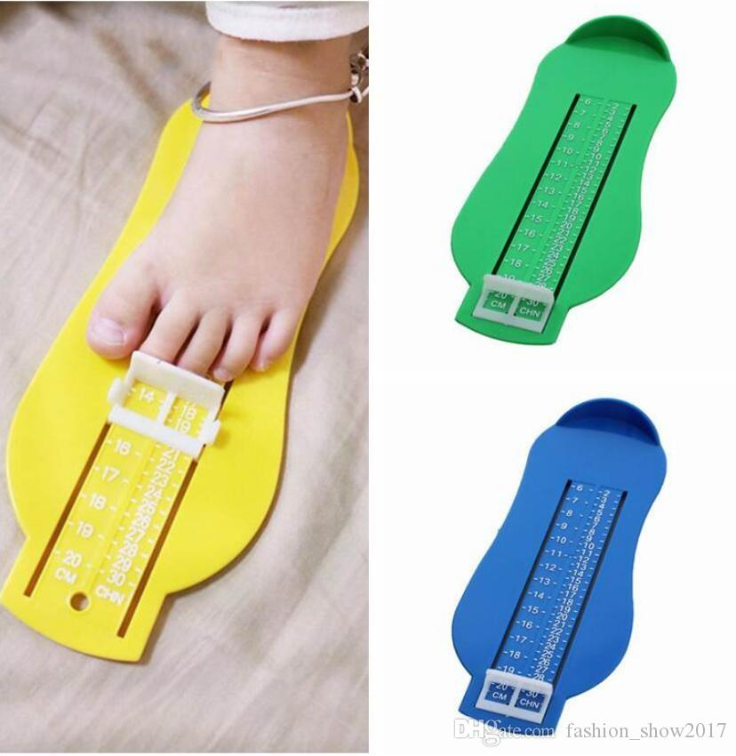 Baby Foot Ruler Kids Foot Length Measuring Gauge Device Child Shoe  Calculator Toddler Infant Shoes Fittings Gauge Tool