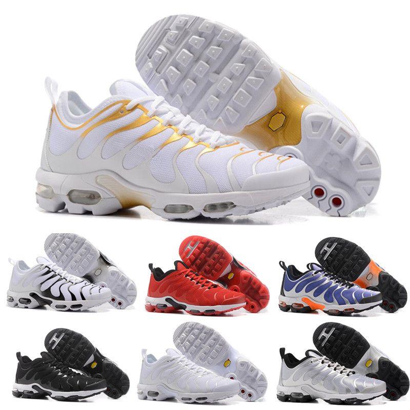 Купить Оптом Nike TN Plus Air Max Airmax Продажи Original 2018 NEW TN Plus  Мужская Обувь Для Дешевых Air Tn Plus Белый Черный Синий Баскетбольная  Кроссовка ... 30db724bd5b05