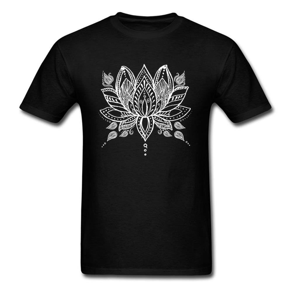 Slim fit t shirts lotus flower t shirt men black tshirt buddhism slim fit t shirts lotus flower t shirt men black tshirt buddhism tops hinduism tees summer autumn family cotton clothes ordering t shirts rude t shirt from izmirmasajfo