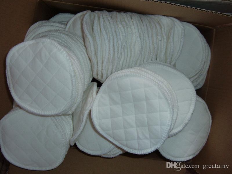Sıcak satış faydalı yeni anne anne annelik adsorbent emzirme besleme kullanımlık yıkanabilir meme pedleri hemşirelik ücretsiz kargo