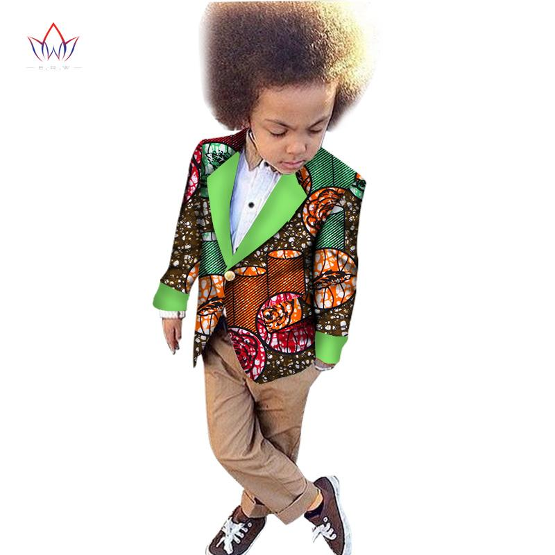 282227109 2019 2018 African Clothing Kids Dashiki Traditional Cotton Coat Matching  Africa Print Children Top Baby Clothes Cotton BRW WYT47 From Trousseau, ...