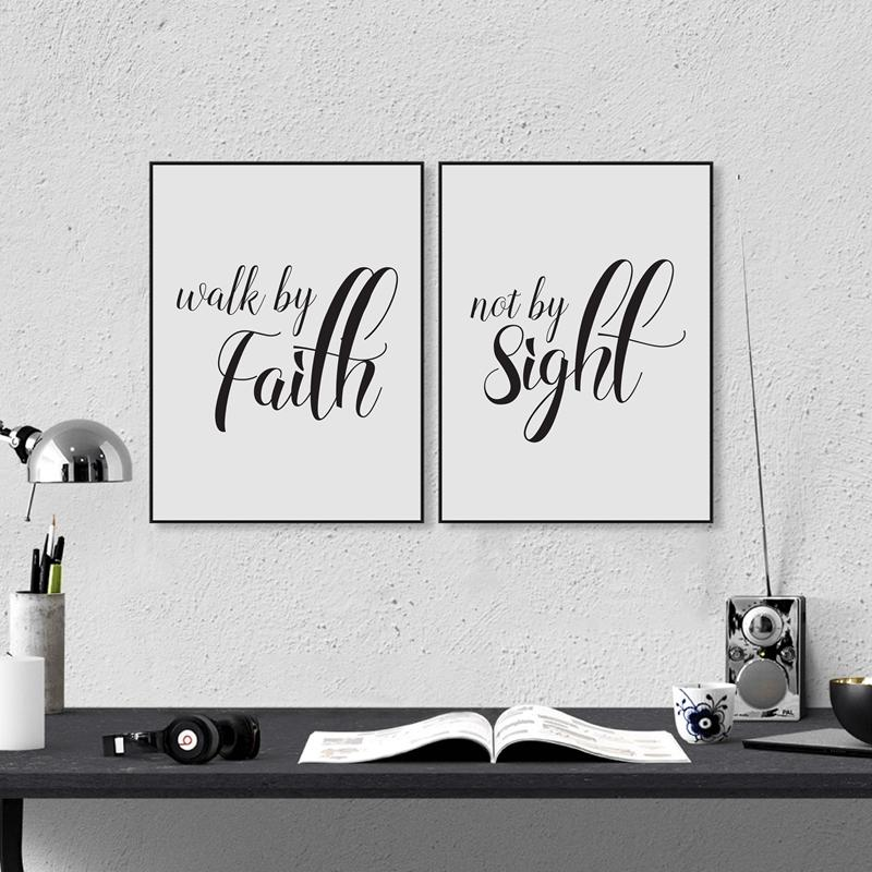 2018 Love Never Fails Christian Prints Poster Bible Verse Canvas Painting For Home Living Room Wall Art Decoration From Herbertw 2847
