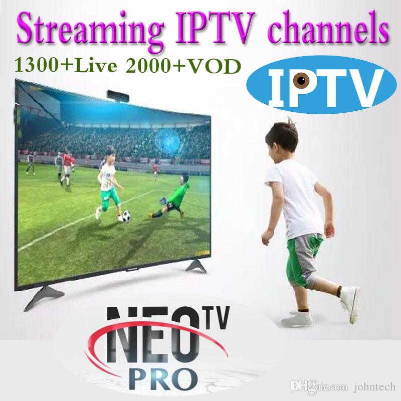 1 Year NEOTV Pro IPTV French Channels Subscription Arabic Spanish  Portuguese African European IPTV Package m3u NEO VOD
