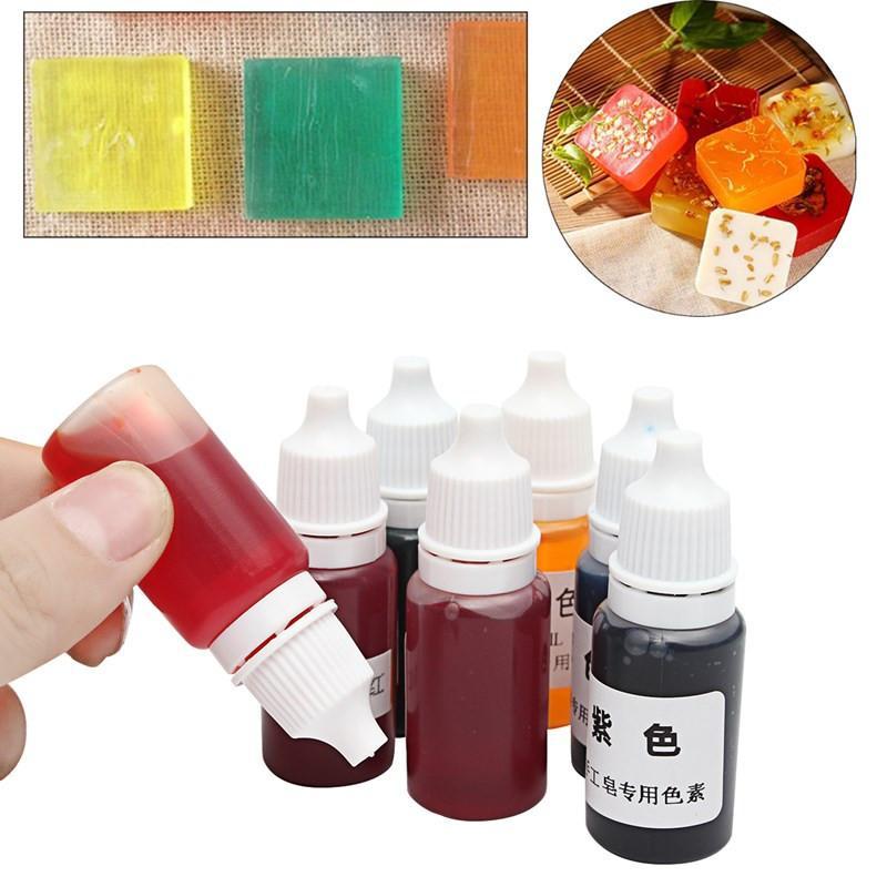 Acquista Fai Da Te Fatto A Mano Sapone Colore Liquido Pigmento i ...