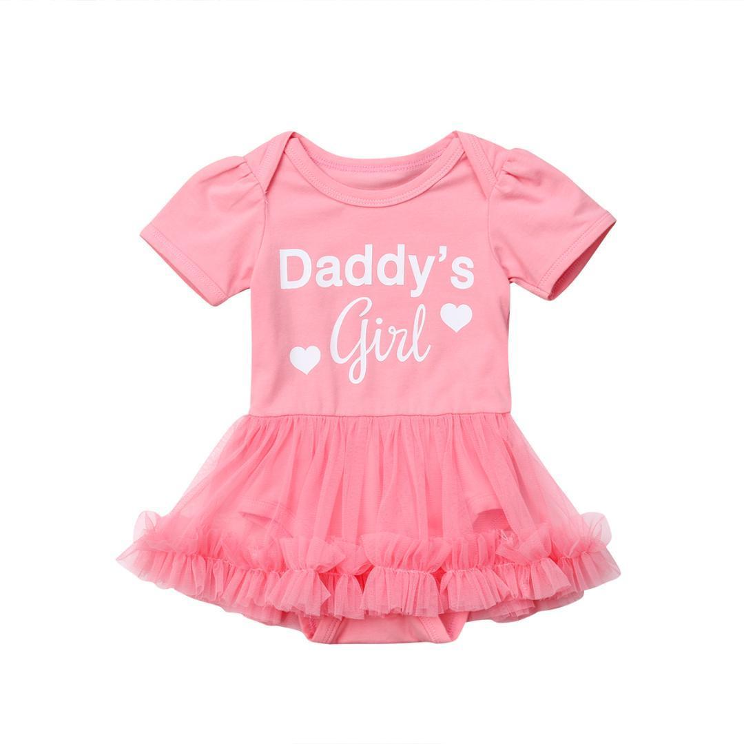 ec5b6bd26d51 Compre Moda Para Bebés Recién Nacidos Mameluco Tutu Faldas Niña Princesa  Mamelucos Ropa A $41.11 Del Universecp | DHgate.Com
