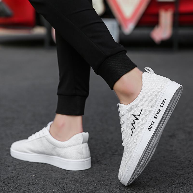 1edf12539f Canvas Shoes Men Casual Shoes Breathable Wear-resistant Comfortable ...