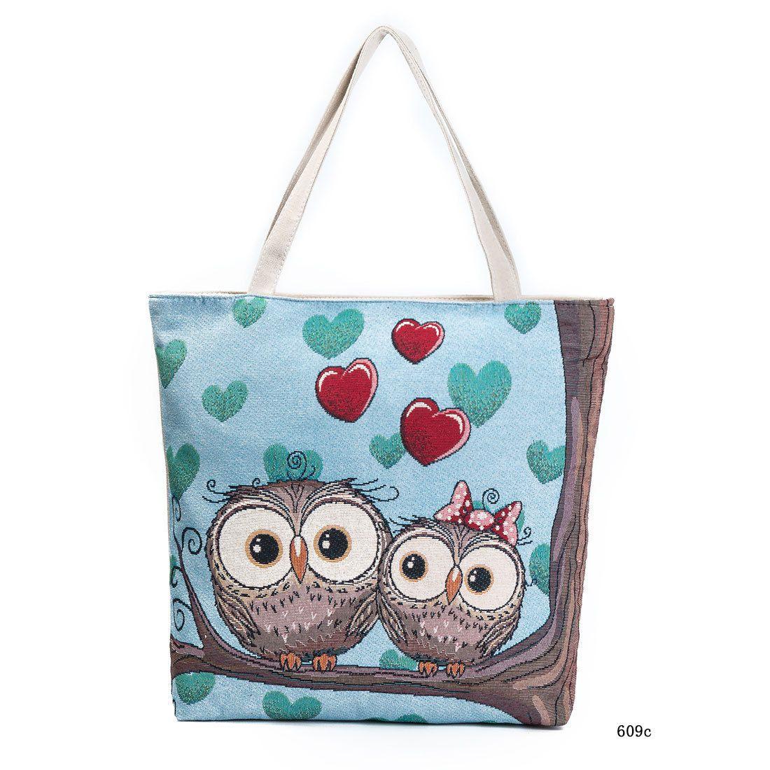 da2a7c42f9a8 Colorful Owl Printed Messenger Bag Female Small Shoulder Bags Women Animals  Flap Girls Fashion Crossbody Mini Package