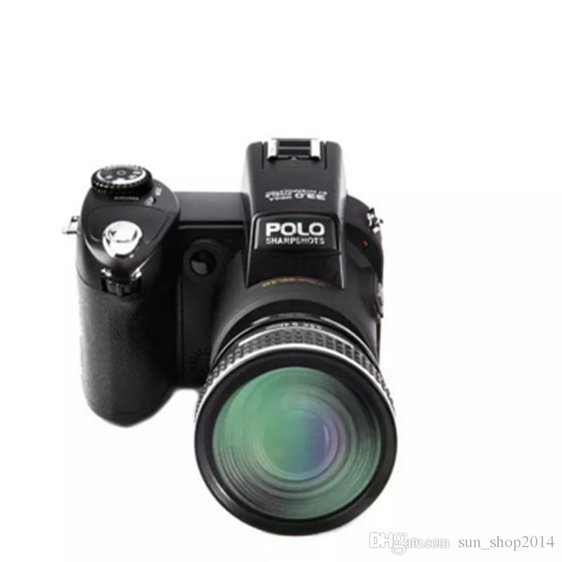 POLO D7300 Digital camera HD1080P 3.0LCD 24 times optical zoom 33 million pixels, 3 mode complementary light,Three foot frame