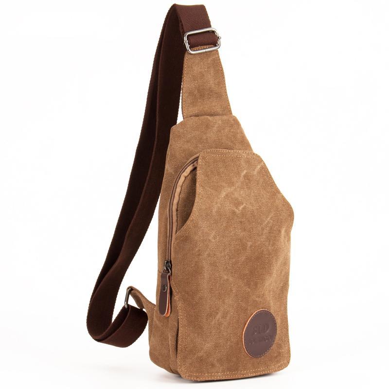 8176b6d167 Male Casual Messenger Bag Men Chest Pack Single Shoulder Strap Back Bags  2018 Canvas Travel Men Crossbody Bags Fashion Chest Bag Womens Handbags  Body Bags ...