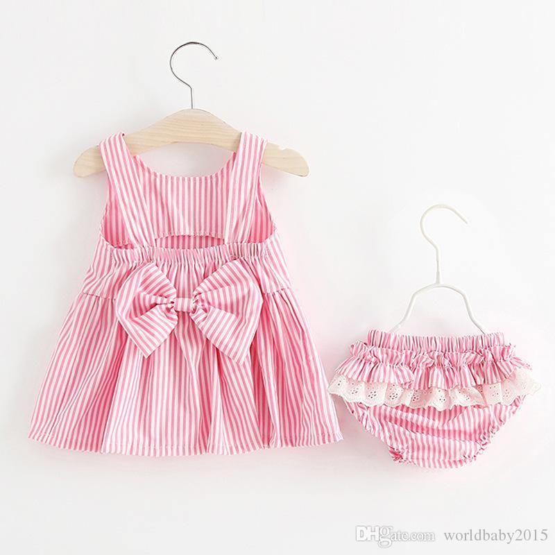d02fda00 2018 Baby Girls Dress Big Bowknot Infant Party Dress For Toddler Girl First  Brithday Baptism Clothes Double Formal Tutu Dresses Girls Clothes Baby Dress  ...
