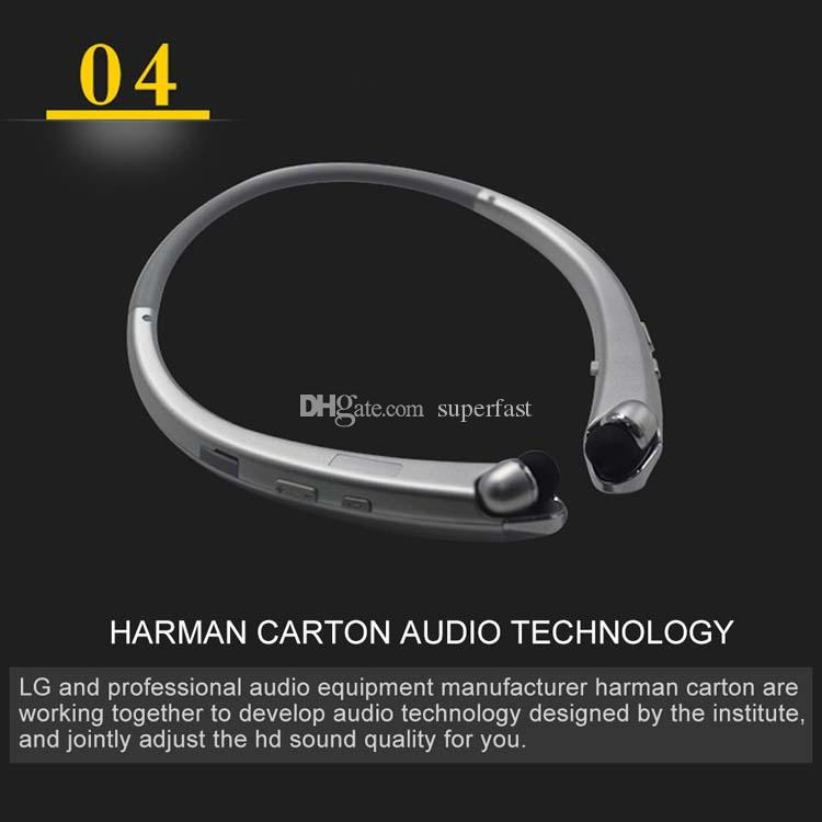 HBS 910 Bluetooth Earphones Stereo Sports Neckband HBS910 Headphones 4.1 CSR Chip Wireless Headset For Smart Android System With Pacakge