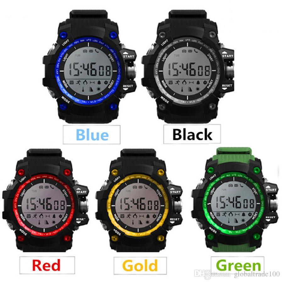Waterproof Watch Temperatura Health Soporte Monitoring Altitude Sports D Presión Reloj Inteligente Barométrica Bluetooth De Pulsera Ex16 Uv mNn0w8
