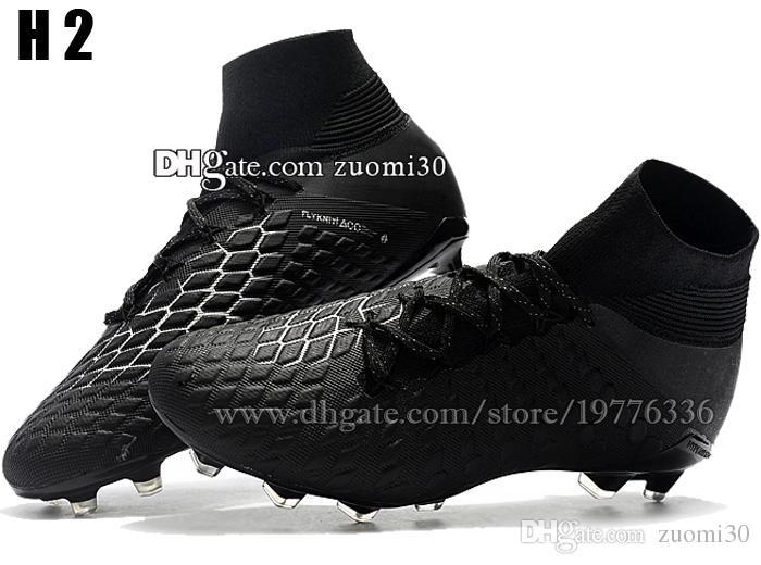 High Tops Hypervenom ACC Soccer Cleats Cheap Outdoor Trainers Soccer Boots Hypervenom Phantom III DF FG Football Shoes Mens Football Cleats
