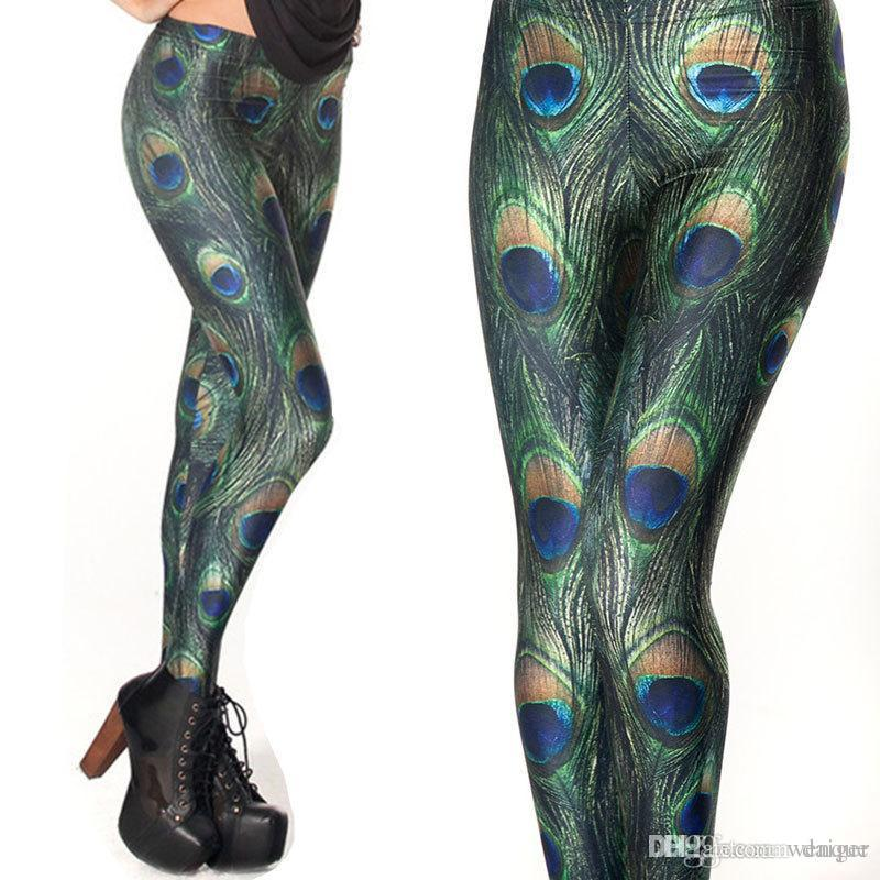 8ae060ebd22171 2019 Wholesale 3D Printed Leggings Peacock Women Legging Womens Leggings  Jeggings FitnessLegings Sexy Legging Pants From Wenque, $31.97 | DHgate.Com