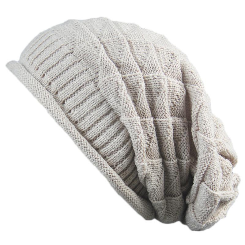 56713efa 2019 2018 HOT Winter Knitted Hat Woolen Cap Women Casual Hats Beanies Hat  Solid Color Men Skullies Winter Hats From Bluelike, $40.66   DHgate.Com