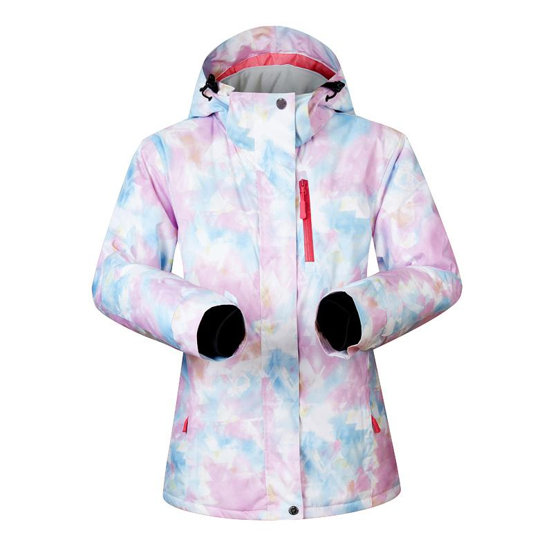 a967082ccb 2019 Winter Womens Ski Jacket Waterproof Super Warm Ski Jackets For Women  Snowboard Snow Skiing And Snowboarding Clothes Brands From Portnice
