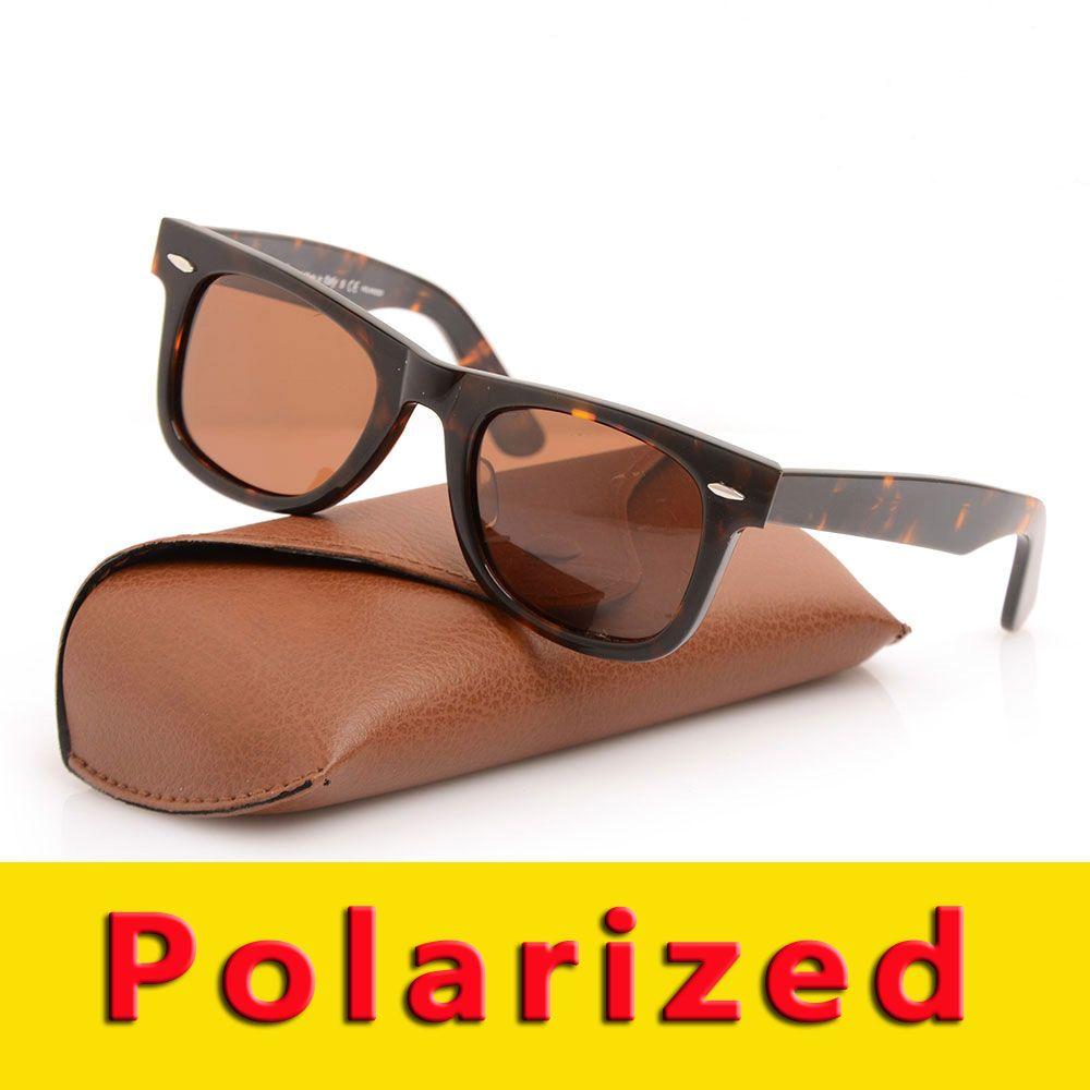 4fd632ccff8b0 High Quality Polarized Sunglasses Wayfarers Sun Glasses Fashion Eyeglass  100% UV400 Sun Glasses Mens Womens Sunglasses 2140 Classic Glasses Metal  Hinge ...