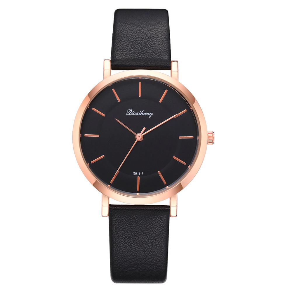 d01296ae06a85 Fashion Luxurious Girls Ladies Leather Flash Dial Quartz Analog Wrist  Watches Women Brand Wristwatch Bracelet Brand Ladies Watch The Best Watches  Discount ...