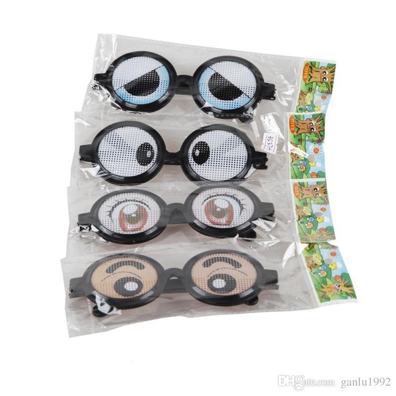 Trick Glasses Party Halloween Spectacles Intérêt Jouets Drôle Expression Kuso Enfant Kid Cadeau Jouet Prop Plastique 2 7bq V