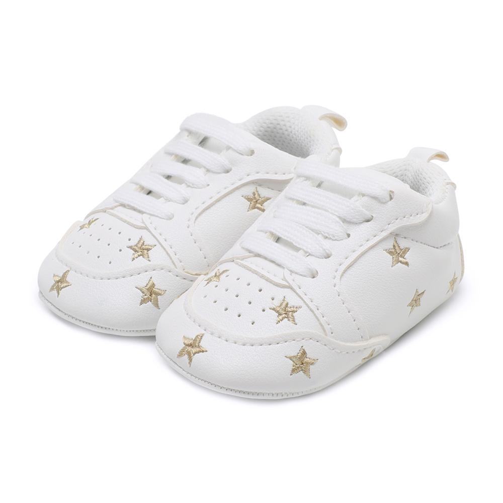 ed67d7810654f Fashion Kids Sneakers Newborn Baby Crib Shoes Boys Girls Infant Toddler  Soft Sole First Walkers Baby Shoes 0-18 M