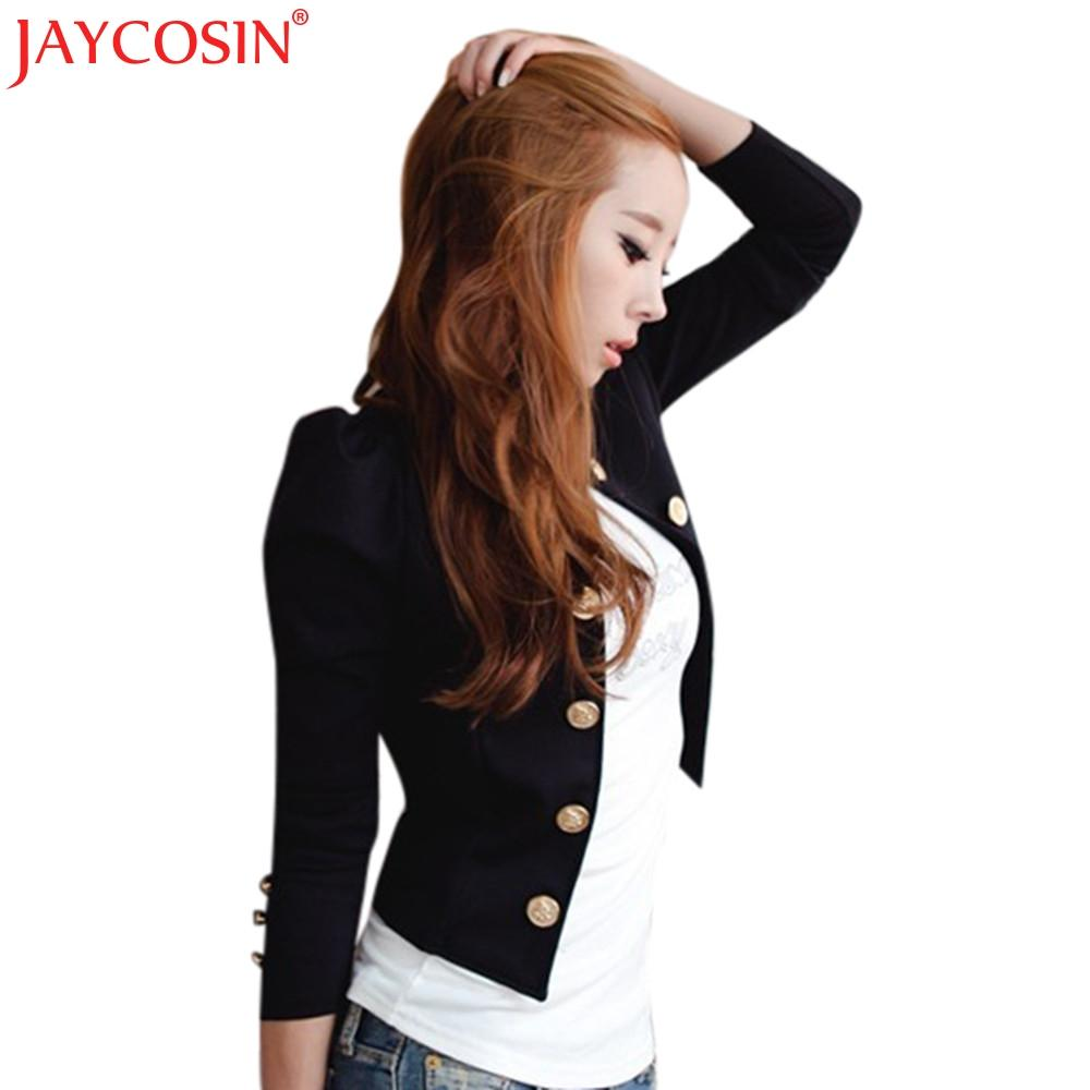 JAYCOSIN Jacke Mantel Frauen 2017 Womens Casual Slim Suit Top Damen Outwear Tops Mantel Jacken Mäntel Nev6 Freies Shiping