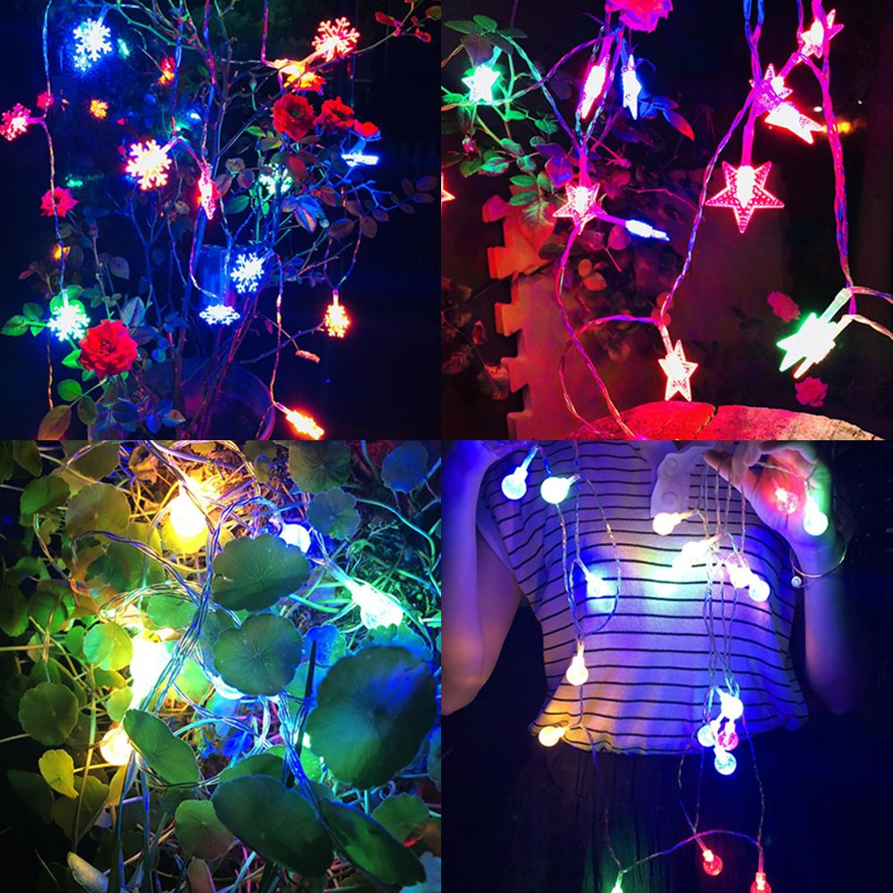 3m Christmas Lights Outdoor Led String Garland Fairy Lights Christmas Tree Ornaments Xmas Decoration Colorful Home Garden Deco