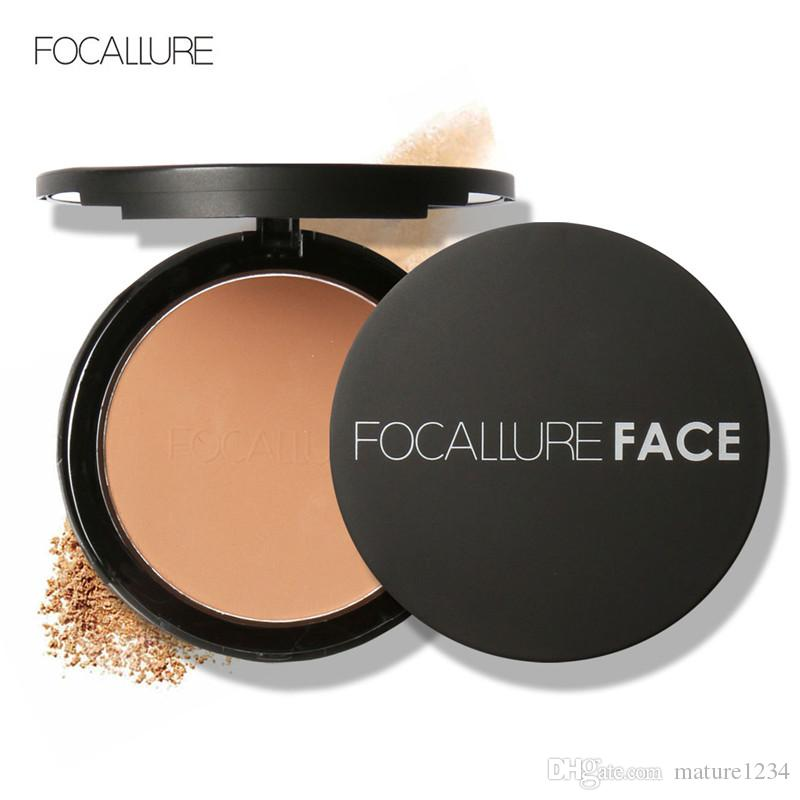 FOCALLURE Make Up Face Powder Bronzer Highlighter Shimmer Brighten Face Pressed Powder Palette Contour Makeup Cosmetics