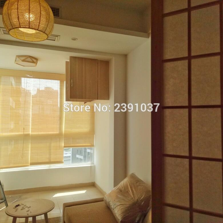 Bamboo curtain, partition, balcony, living room, room, sun shading, sun  shading window roller blinds for indoor decoration