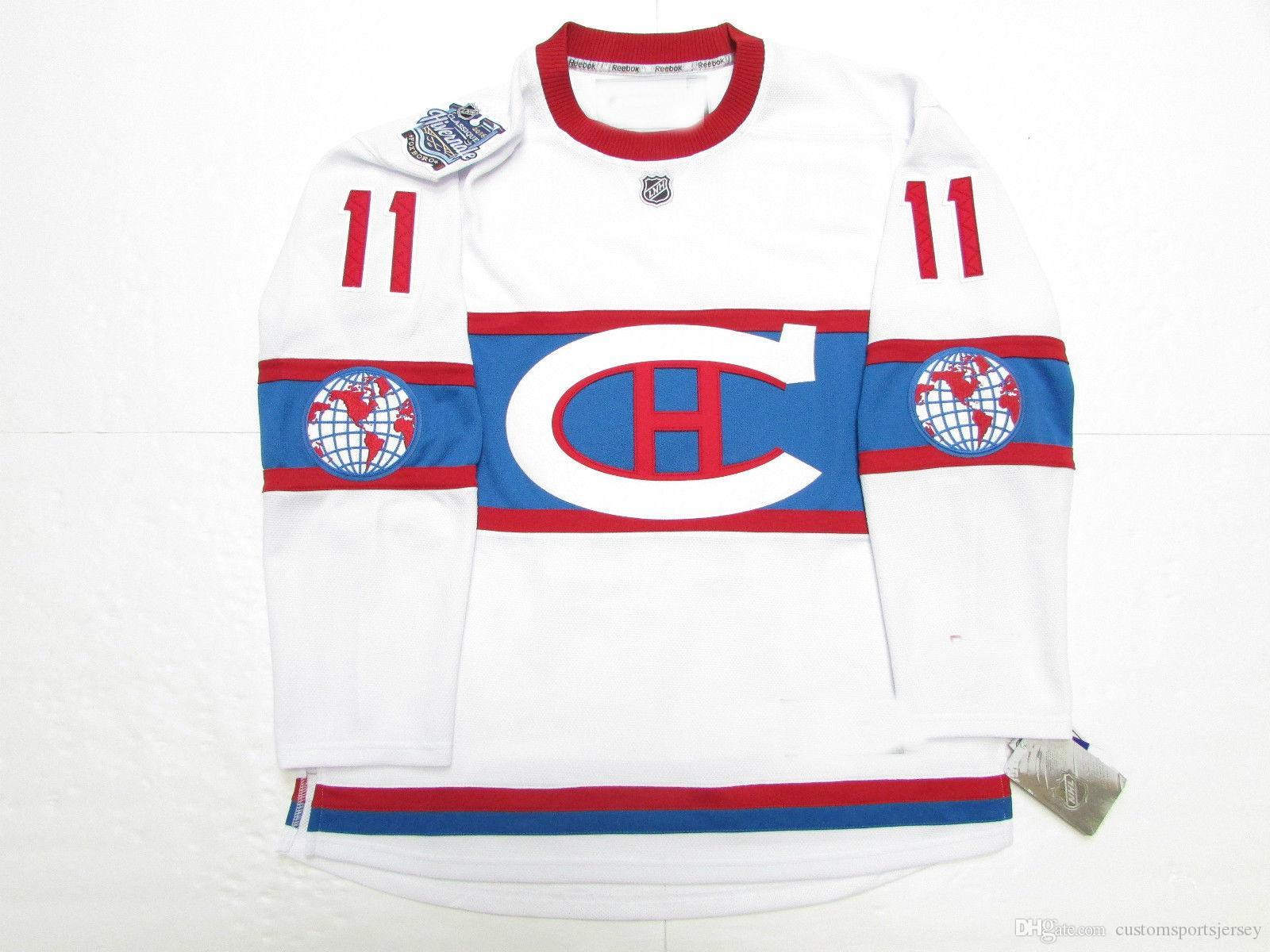 online store 05687 842f1 Cheap custom GALLAGHER MONTREAL CANADIENS 2016 WINTER CLASSIC JERSEY WITH  PATCH stitch add any number any name Mens Hockey Jersey XS-5XL