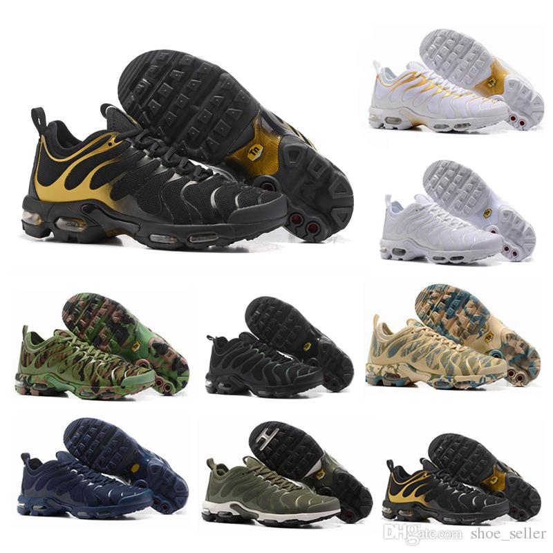 6a5d17c78b2ab4 2018 Top Cheap Mens Womens Shoes Green TN Ultra Sports Requin Sneakers Air  Caushion Running Tns Shoes 36-45 Running Shoes Tn Chaussures Tn Online with  ...