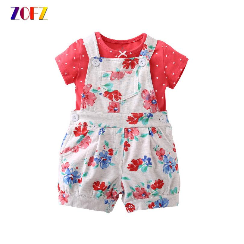 19f633890 Compre Zofz Summer Baby Clothes 2 Unids / Set Pplka Dot Moda Nuevo Corto  Lindo O Cuello Regular Hot Sale Short Boy Set Traje De Bebé Ropa De Niña A  $20.7 ...