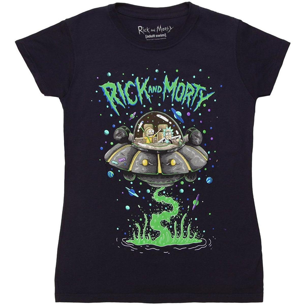 e170b3d5 Ripple Junction Rick & Morty Spaceship Juniors T Shirt Quality T Shirts T  Shirt Slogans From Liguo005, $12.79  DHgate.Com