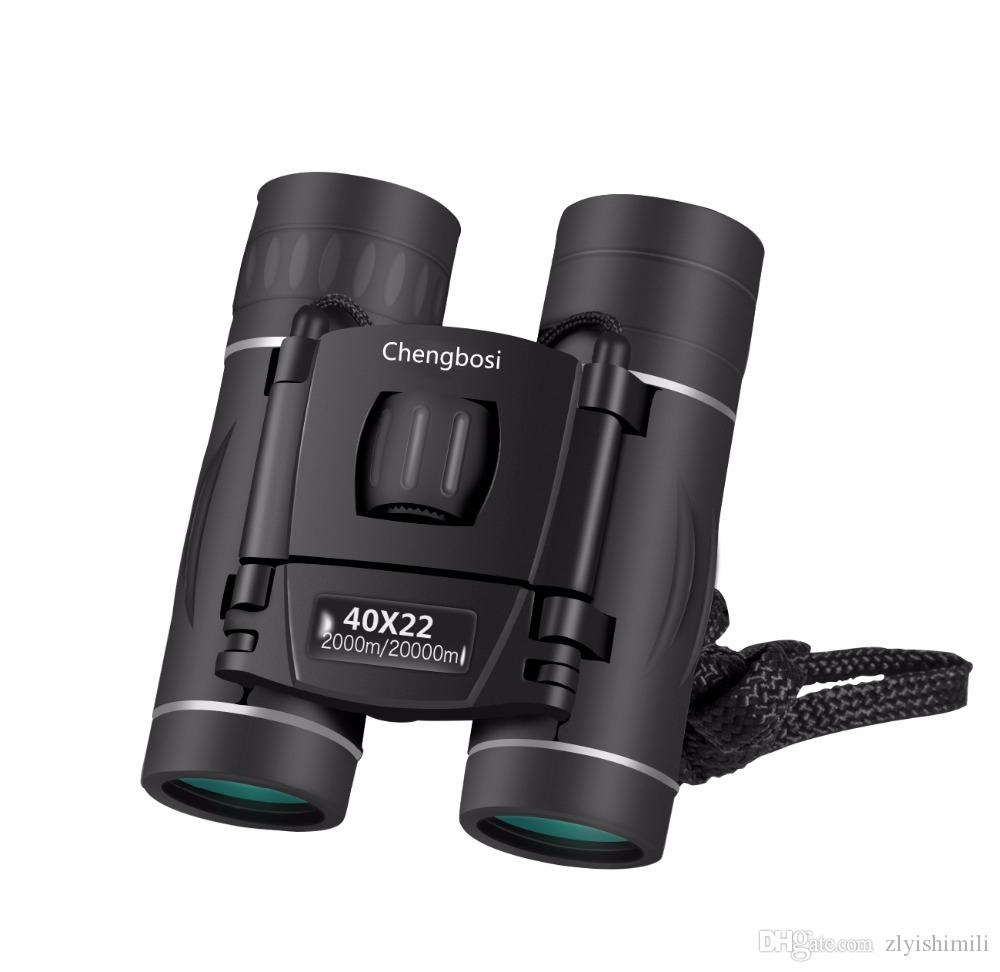 40X22 Fashion Military HD Binoculars Professional Hunting Telescope Zoom High Quality Vision No Infrared Eyepiece black